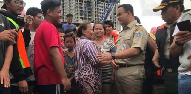 Banjir Dimanfaatkan Pembenci Anies Untuk Menggoreng dan Menyerang