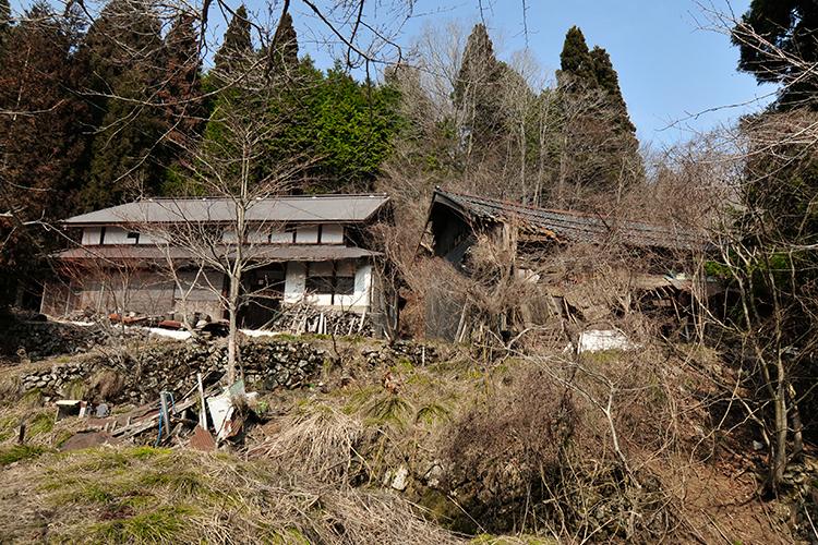 スゴログ 杉集落 廃村