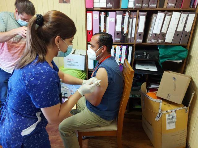 Vacunación SENAME