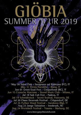 Giöbia Summer tour 2019