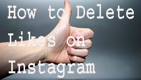 How to delete Likes on Instagram 1