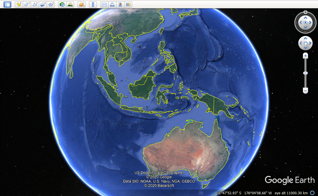 Gambar: Google Earth Pro