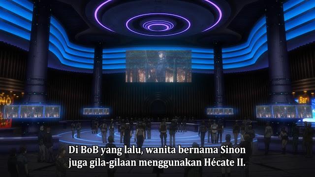 Sword Art Online Alternative - Gun Gale Online Episode 9 Subtitle Indonesia