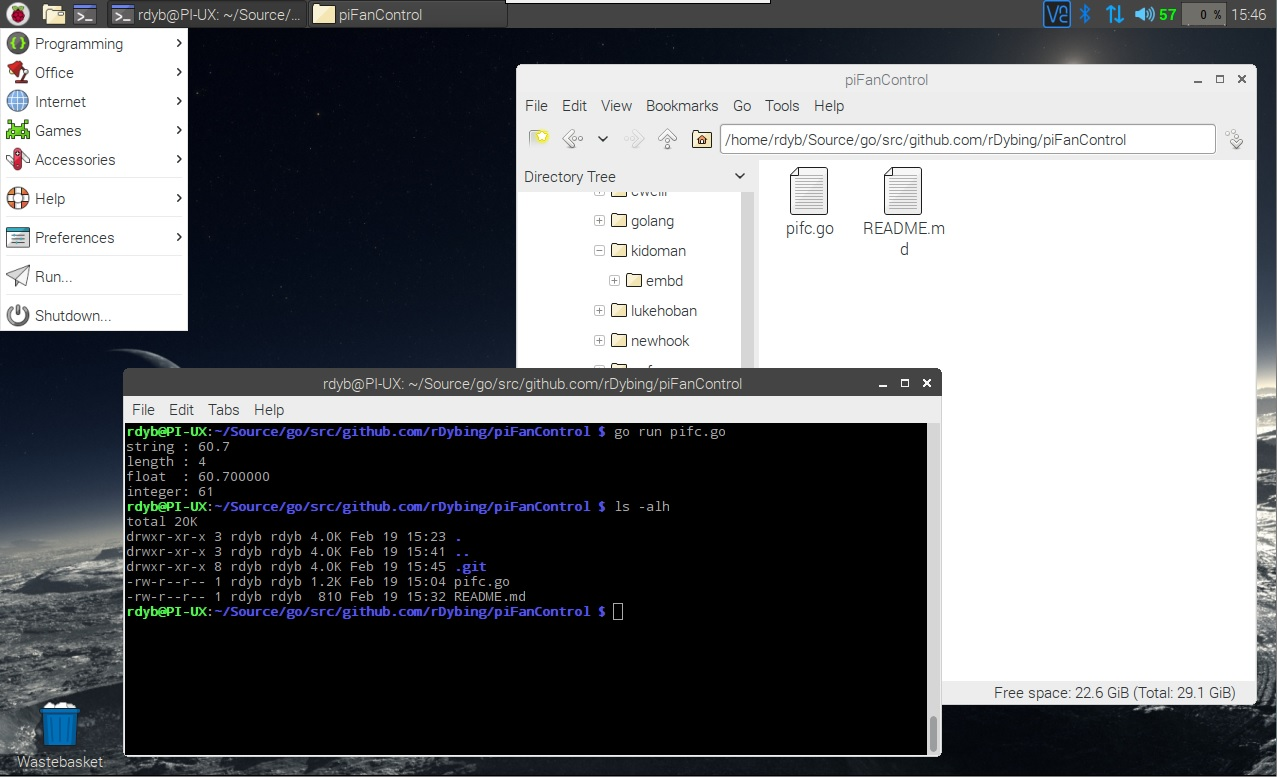 Dybings Digital Distractions: Raspberry Pi 3 CPU Fan Control