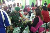 Babinsa Tipes Village Accompany Health Social Action
