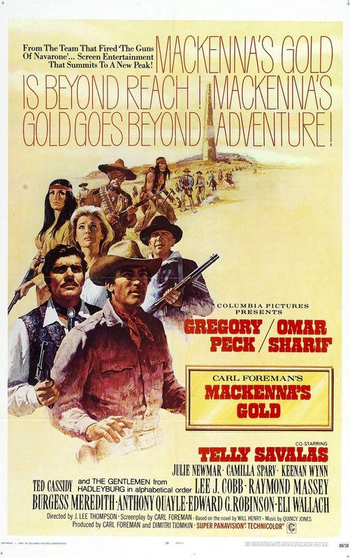 MacKenna's Gold 1969 720p Esub BluRay x264 Dual Audio Hindi English GOPI SAHI