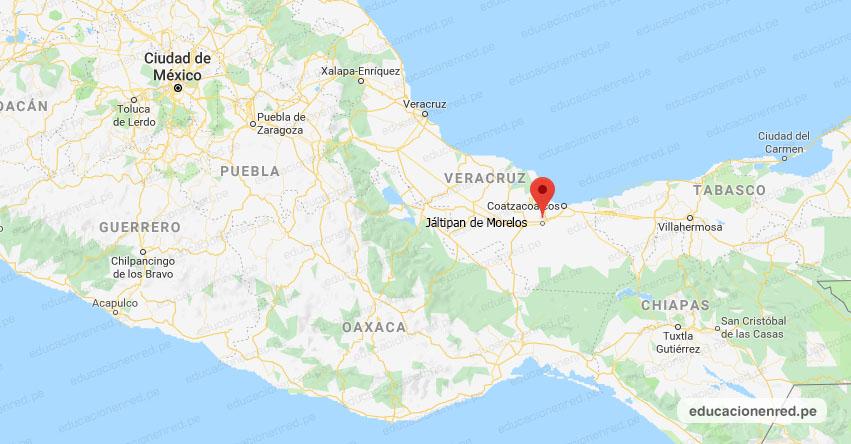 Temblor en México de Magnitud 4.2 (Hoy Domingo 07 Febrero 2021) Sismo - Epicentro - Jáltipan de Morelos - Veracruz de Ignacio de la Llave - VER. - SSN - www.ssn.unam.mx