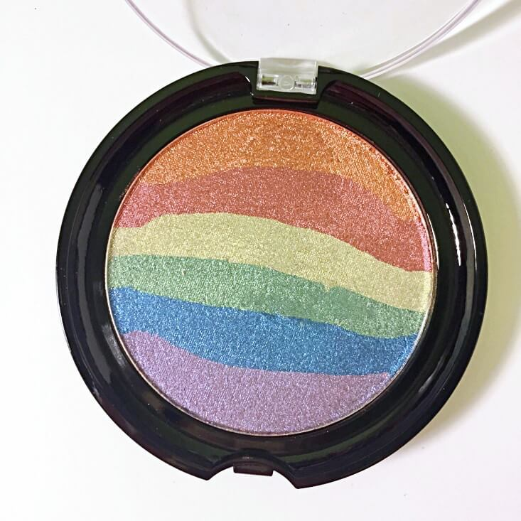 wet n wild Fantasy Makers coloricon Rainbow Highlighter Moonstone Mystique