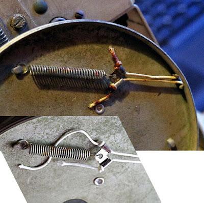 Bush VHF 54 drive cord capacitor wheel