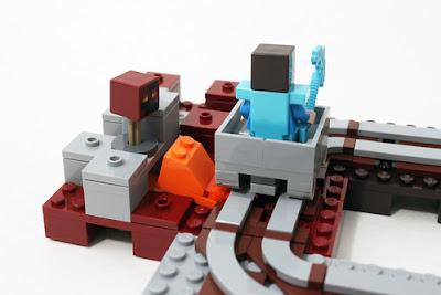 LEGO Minecraft 21130 Đường ray 5