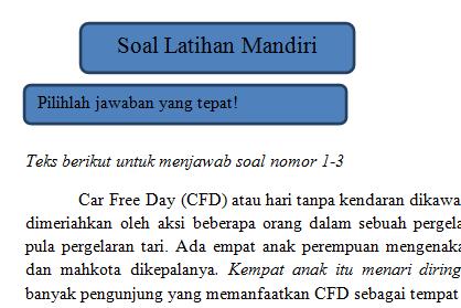 Contoh Soal Teks Deskripsi Kelas 7 Kurikulum 2013