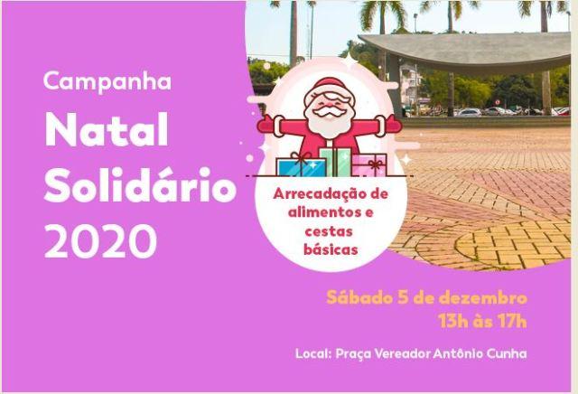 Fundo Social faz Campanha Natal Solidário 2020 neste sábado