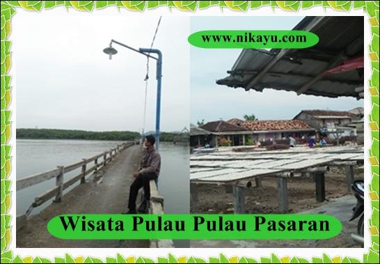 Wisata Pulau Pasaran Lampung, Raup Untung Dari Bisnis Ikan Asin
