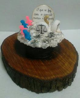 Cupcake Advodacia e Enfermagem