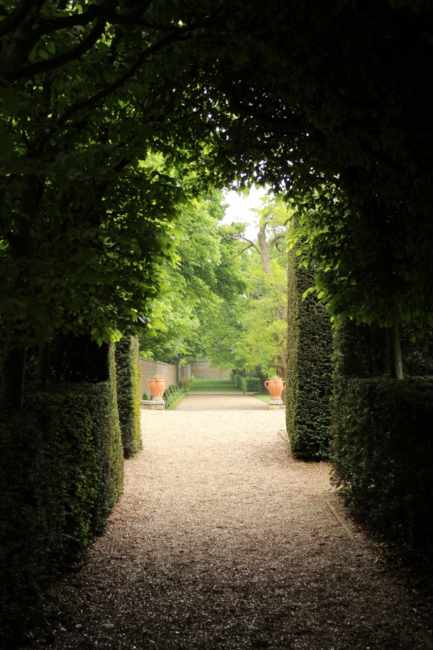Hedge Tunnel Garden
