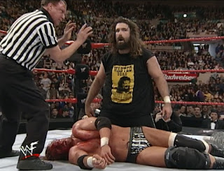 WWE / WWF Royal Rumble 2000 -  Cactus Jack and Triple H went to war
