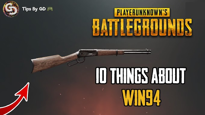 PUBG - Few Important thing about the new Win94 Sniper