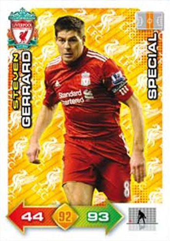 #050 Jonjo Shelvey-Squad Adrenalyn XL liverpool fc 11//12