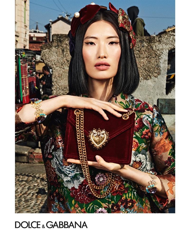 Dolce & Gabbana Eyewear's winter 2019 advertising campaign