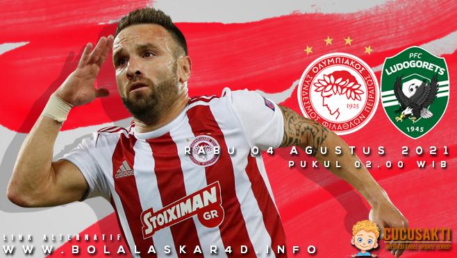 Prediksi Bola Olympiacos vs Ludogorets Razgrad Rabu 04 Agustus 2021