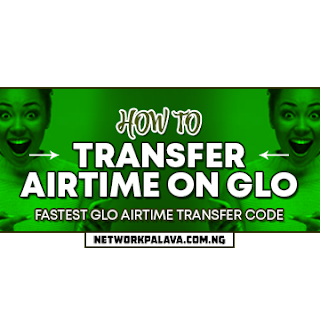 how to transfer airtime on glo code