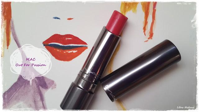 mac ruj, mac lipstick,  mac out for passion, mac rujlar, mac cosmetics