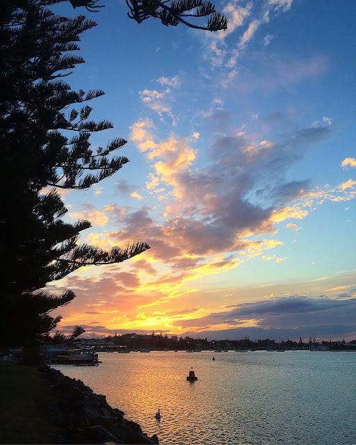 Sunset Hastings River Port Macquarie