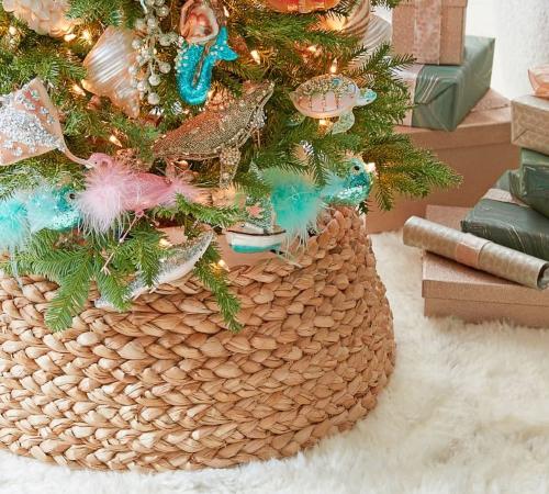 Basket Christmas Tree Collar