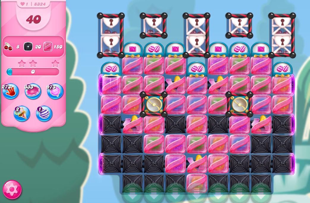Candy Crush Saga level 8324