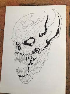 Sharpie Marker Thick Ink Lines