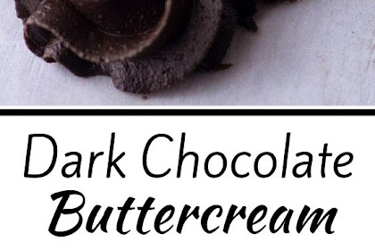 Dark Chocolate Buttercream