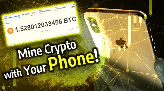 Mine Crypto From ANYTHING (iPhone, Andorid, Computer) - How To Be Up And Earning In 5 Mins...