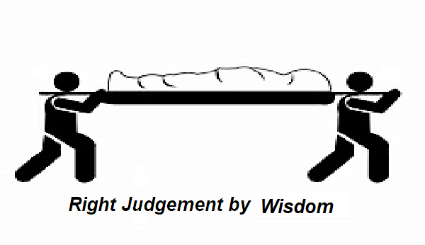 Right Judgement-A tale of Wisdom-How to Judge real convict in ambiguity-An Indian Folktale.
