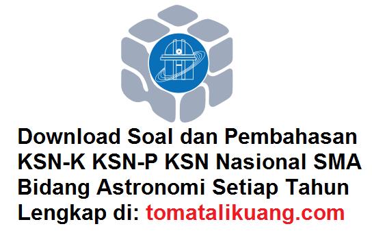 soal pembahasan ksn osn astronomi sma tahun 2020 tomatalikuang.com