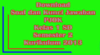 download soal dan kunci jawaban uts pjok kelas 1 sd semester 2 kurikulum 2013