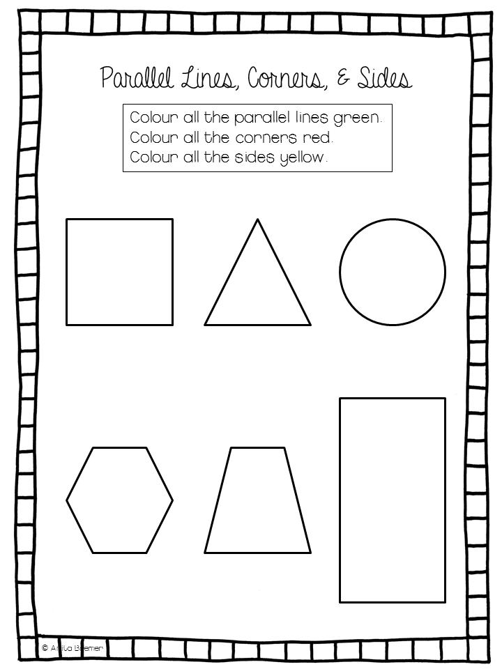 Printable Worksheets 2d worksheets : HD wallpapers 2d and 3d shapes worksheets for kindergarten ...