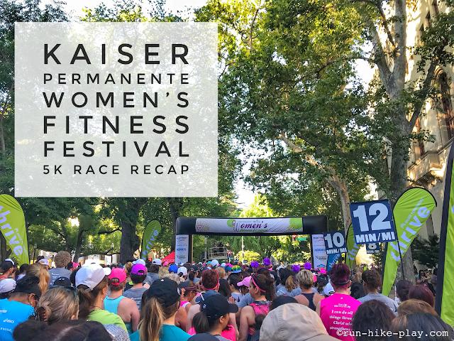 Kaiser Permanente Women's Fitness Festival 5K Race Recap 6/3/18