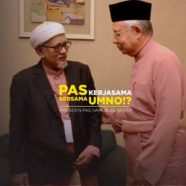 Image result for Gambar Hadi sokong Umno