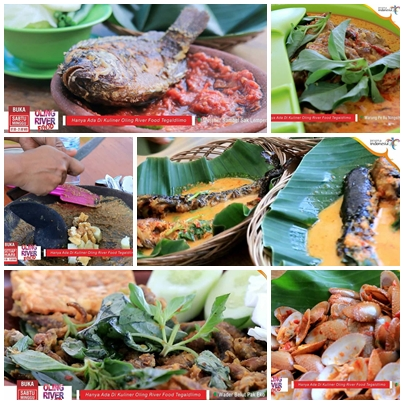 Menu Oling River Food