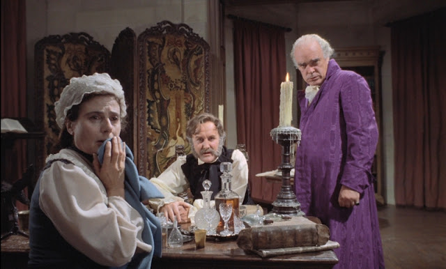 Aunt Hilda, Baron Zorn, and Dr. Falkenberg