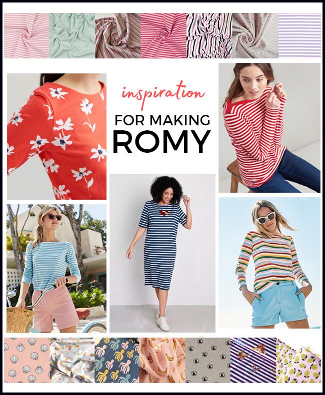 Inspiration for making Romy