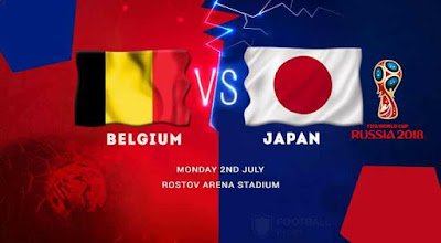 BELGIUM VS JAPAN LIVE STREAM WORLD CUP 2 JULY 2018