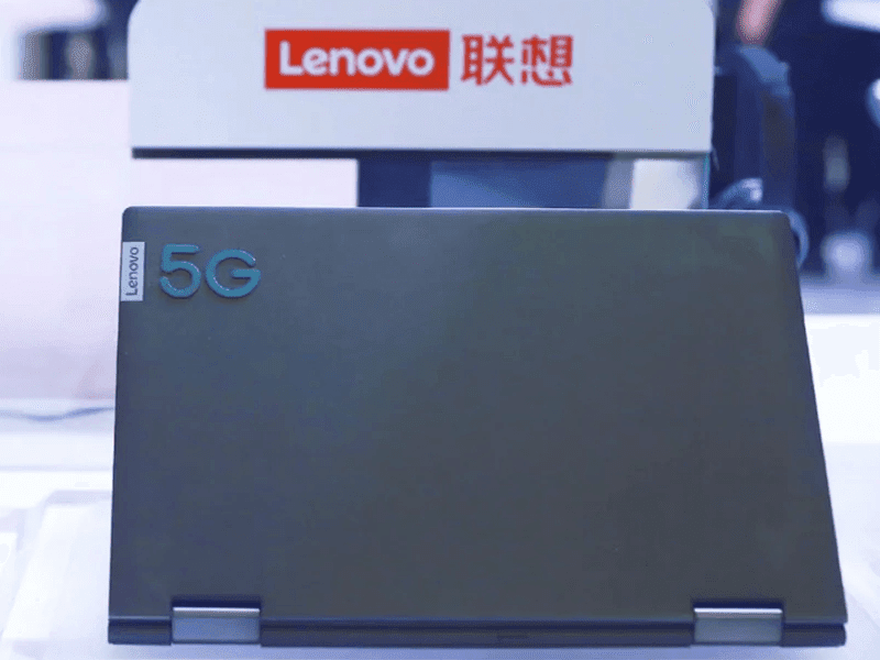 5G Laptop with Snapdragon 8xc SoC