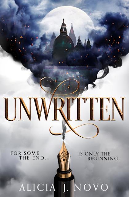 Unwritten by Alicia J. Novo a young adult fantasy book