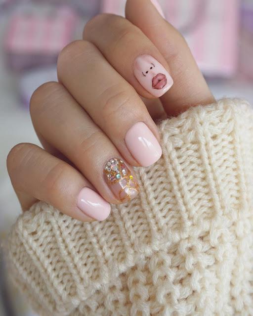 Nail art design image