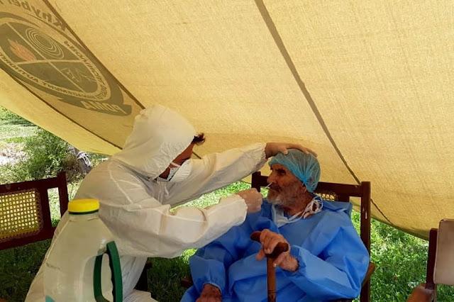 تعافي باكستاني عمره 103 أعوام من فيروس كورونا