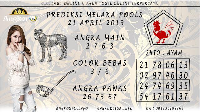 Prediksi Angka Jitu MELAKA POOLS 21 APRIL 2019