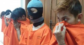 Polisi Gagalkan Penyerangan Geng Motor di Bandung, 7 Anggota Brigez Ditangkap