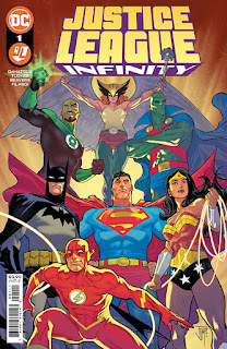 Justice League Infinity 1 - Cover