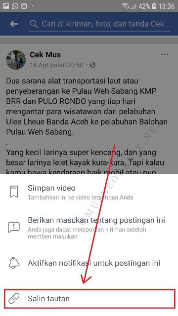 cara download video dari facebook di pc